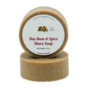 Shaving Soap - Bay Rum & Spice 120ml shave bar