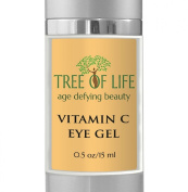 #1 Vitamin C Anti Ageing Eye Serum - Anti Ageing, Anti Wrinkle, Skin Brightening Vitamin C Eye Gel - TOP RATED BRAND - Vitamin C Eye Gel Helps Eliminate Dark Circles, Dark Spots, Crows Feet, And Reduce Puffiness, Wrinkles, And Age Spots While Helping R ..