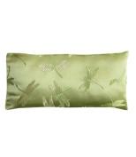 Lavender Filled Silk Eye Pillow - Green Dragonflies