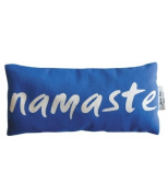 Jane Inc. Organic Cotton Eye Pillow - Namaste - Blue