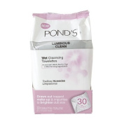 Pond's Luminous Clean Wet Towelettes