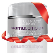 Anti Ageing Cream Moisturiser VITAMIN C From CAMU CAMU ? Exclusive Formula ? 50ml - Shea Butter, Acai, Noni, Pomegranate, Aloe, Pure Green Tea Extract, Mangosteen, Collagen, Anti-Wrinkle Sun Damage Repair Reduces Fine Lines and Wrinkles, Brightens ..