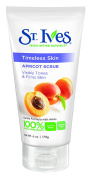 St. Ives Timeless Skin Visibily Tones and Firms Skin Apricot Scrub, 180ml