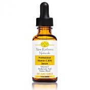 GUARANTEED Best Results 20% Vitamin C Serum For Face - Best Natural & Organic Anti-Ageing Ingredients - With 11% Botanical Hyaluronic Acid + E + Ferulic + MSM + Organic Aloe - Fades Wrinkles, Freckles, Acne Scars, Discoloration and Age Spots - Stimulat ..