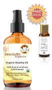 120ml Organic Rosehip Oil + Bonus 30ml Argan Oil