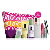 Clinique Official 2013 Winter Gift Set including New Repairwear Laser Focus Wrinkle Eye Cream, New Dramatically Differnt Moisturising Lotion+, New All About Shadow and More