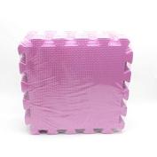 HuntGold 10PCS Baby Interlock Foam Crawling Mat Seamed Rug Splice Play Floor Puzzle Mat