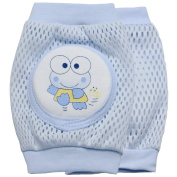 New Kid Baby Mesh Crawling Knee Pads Toddler Elbow Pads Summer style 805641 Blue