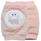New Kid Baby Mesh Crawling Knee Pads Toddler Elbow Pads Summer style 805642 Pink