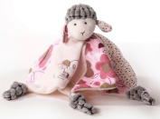 Inware Sweety Sheep Baby Accessories Set with Slippers / Rattle / Cuddly Cloth / Bib / Blanket / Pillow