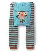 BABY TODDLER INFANT LEGGINGS TIGHTS PANTS UNISEX WITH ADORABLE ANIMAL DESIGN OWL SINGING LARGE