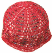 Childrens Eid Prayer Hat / Cap Kufi - Dusky Red