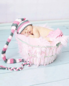 Jastore Photography Prop Baby Infant Costume Lovely Crochet Knitted Hat Cap