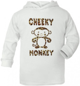 Cheeky Monkey Supersoft Baby Hoodie
