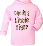 Daddy's Little Tiger Supersoft Baby Hoodie