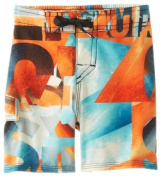 Quiksilver Baby-Boys Infant Night Waka Boardshort, Apricot, 12-18 Months Colour