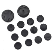 Bluecell Set of 14 Pcs Game Control/Controller Joystick Pad Cover for Sony Playstation PSV PS Vita