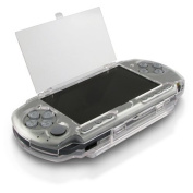 TOOGOO(R) Clip on Crystal Case Compatible with Sony PSP 3000, Clear