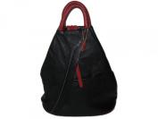 Cavalieri Italian Grain Leather Rucksack Backpack Shoulder Bag 31cm x 25cm x 14cm