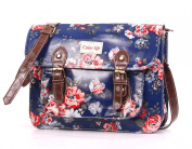 Beautiful Oilcloth Satchel Handbag