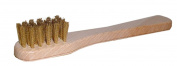 Shoestring Brass Suede Brush
