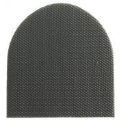 eCobbler 1 pair of Ladies Black Super Hard wearing rubber heels for DIY Shoe Repairs