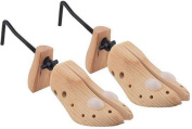 WOODEN ADJUSTABLE LADIES WOMENS SHOE STRETCHER SHAPER BLISTER CORN SIZE 6 - 10