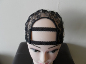 Small Sise Wide Gap Middle U Part Wig Making Cap. 8.9cm X 8.9cm . Ideal for adding closure. With Adjustable Sturdy Straps. Combs, Stretch, Strap, Sturdy.