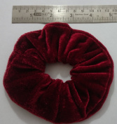 Pair of ATL's Large 12cm Velvet Hair Scrunchies Hair Band in 26 Different Colour