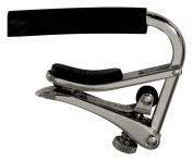 Shubb C1 Acoustic Guitar Capo in Nickel
