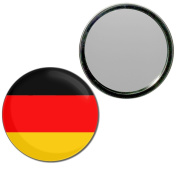 Germany Flag - 77mm Round Compact Mirror