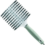 Olivia Garden Hairbrush Mega Ceramic Plus Ion 100 Percent Boar 80/ 110 mm