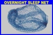 Roller Sleep In Hair Net x 1 Blue