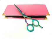 Professional Hairdressing Scissors Hair Cutting Shears Barber Salon Styling Scissors 13cm Japanese Steel RAZOR EDGED With Case titanium