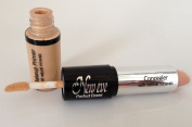 New Eve Perfect Cover 2 in1 Eyebrow Concealer and Eyelid Primer NUDE Cosmetic Duo Makeup