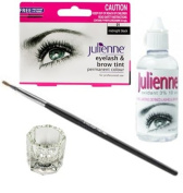 Julienne Eyelash Tinting Kit Black 4 Piece by Natures Curve