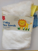 3 Super Soft Microfibre Baby Face Towels Bath Flannel Wash Cloth Wipe Boy Girl Shopmonk