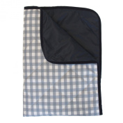 Cotton Baby Blanket for Outdoor - Light Blue