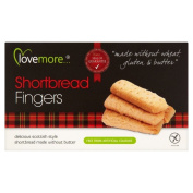 Lovemore Free From Gluten Free Shortbread Fingers