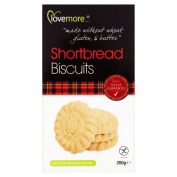 Lovemore Free From Shortbread Biscuits