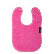 Mum2Mum STANDARD Wonder Bib - CERISE PINK - Super Absortbent - Protects Against Eczema - 100% Cotton