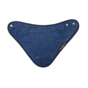 Mum2Mum BANDANA Wonder Bib - NAVY - Super Absortbent - Protects Against Eczema - 100% Cotton