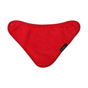 Mum2Mum BANDANA Wonder Bib - RED - Super Absortbent - Protects Against Eczema - 100% Cotton