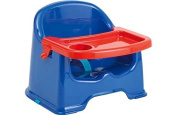 Little Star Chair Booster Seat with Tray - Blue.