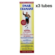 x3 Email Diamant RED Original Cosmetic Toothpaste