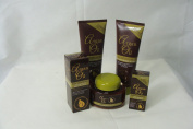 Moroccan Argan Oil Hair Care Treatment Gift Set Contains Shampoo & Conditioner, 2 Hair Treatments, Hydrating Hair Mask