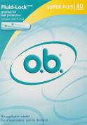 O.B. Tampon Super Plus - 40 Ea