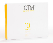 TOTM 100% Organic Applicator Tampons (Regular) x 10