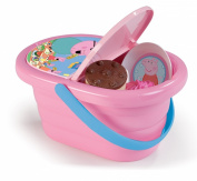 simba 7600024203 peppa pig picnic baskets 24 accessories