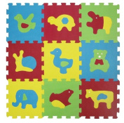 LUDI Basic Animal Themed Foam Mat